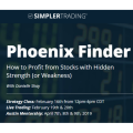 SimplerTrading - Phoenix Finder (Strategy Class + TOS Indicator) + 3 Day Live Trading